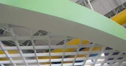 Magna Grid Below 2' x 4' Acoustical Ceilings